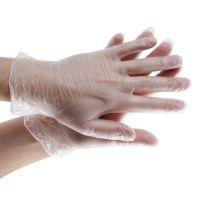 Перчатки Виниловые, Прозрачные, н/c, неопудренные (S, M, L) 50пар
