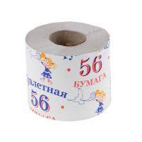 "Туалетная бумага ""Облачко"" с втулкой  54м"
