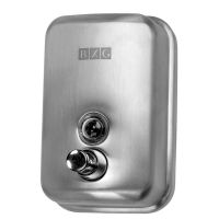 Дозатор жидкого мыла SD-H1-500M (Нержавеющая сталь) матовый